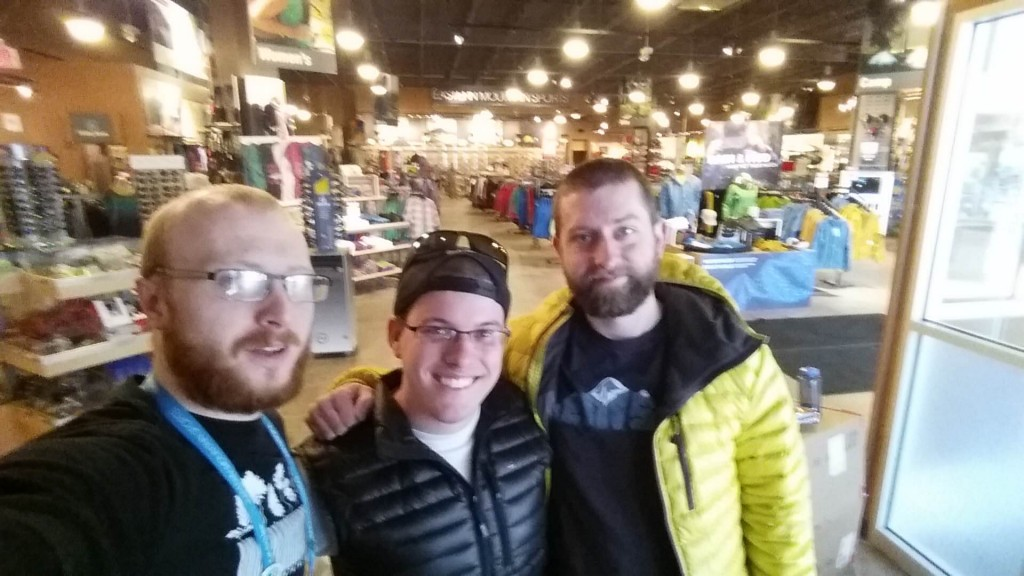 Eaglerunner (left) and Lynx (right) - two coworkers that completed a NOBO Thru-Hike in 2013 and 2014, respectively. These guys helped me out with pack shakedowns, gear recommendations, planning support, and will certainly continue to help while I'm out there. Hope to see you guys at Trail Days (that would be a pretty sweet hitch too!)