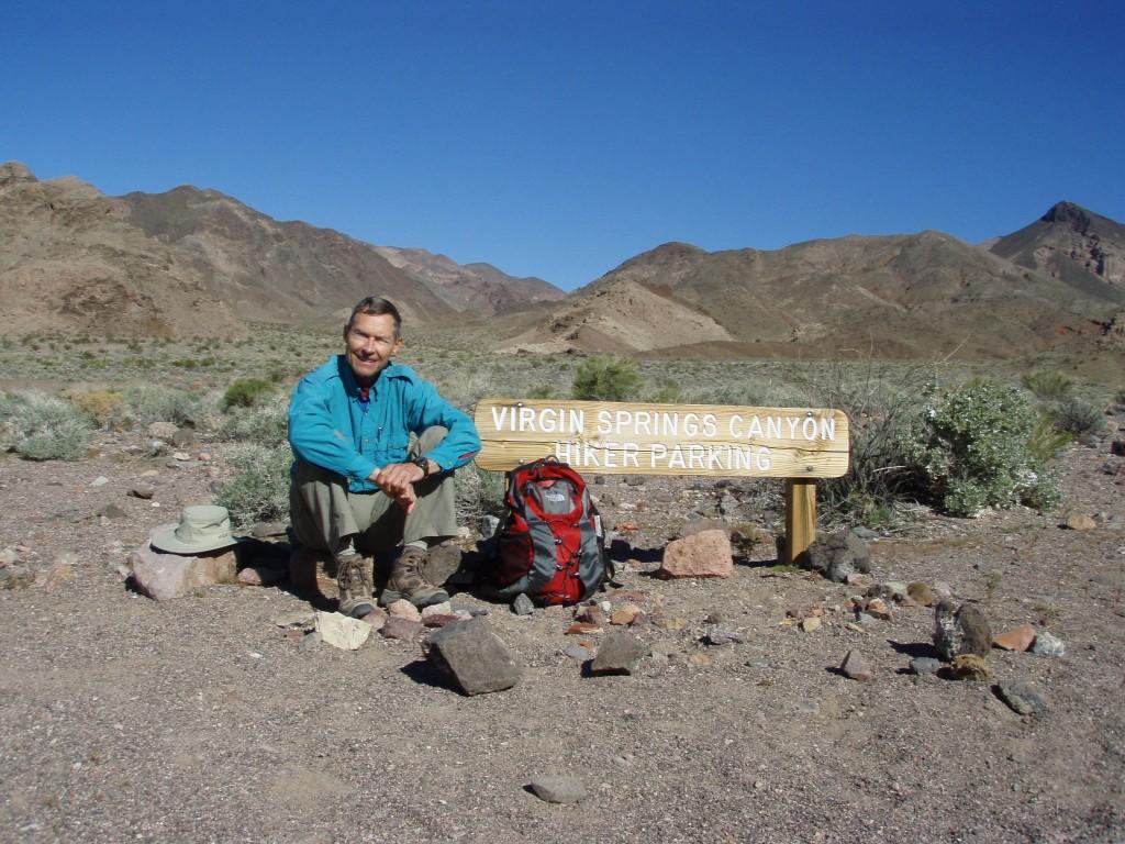 Hiking in Death Valley California, Robert