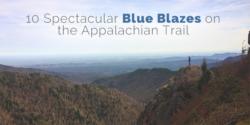 blue blazes on the Appalachian Trail
