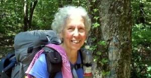 Nan Reisinger, aka Drag'n Fly completes AT at age 74
