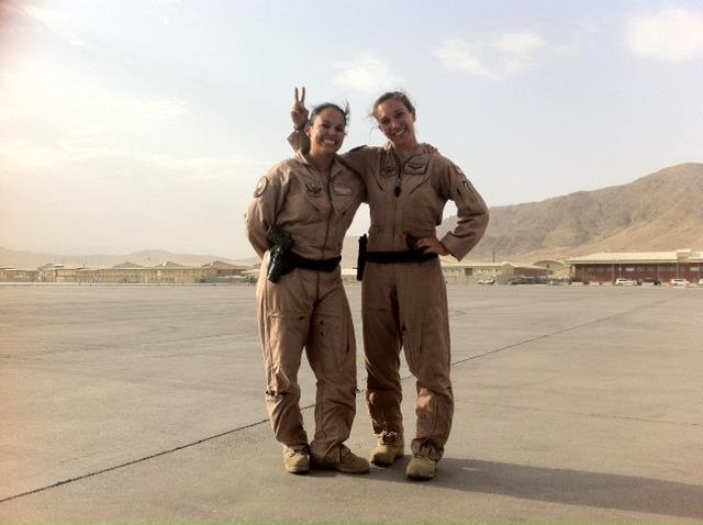 Alex & I in Kabul 2012