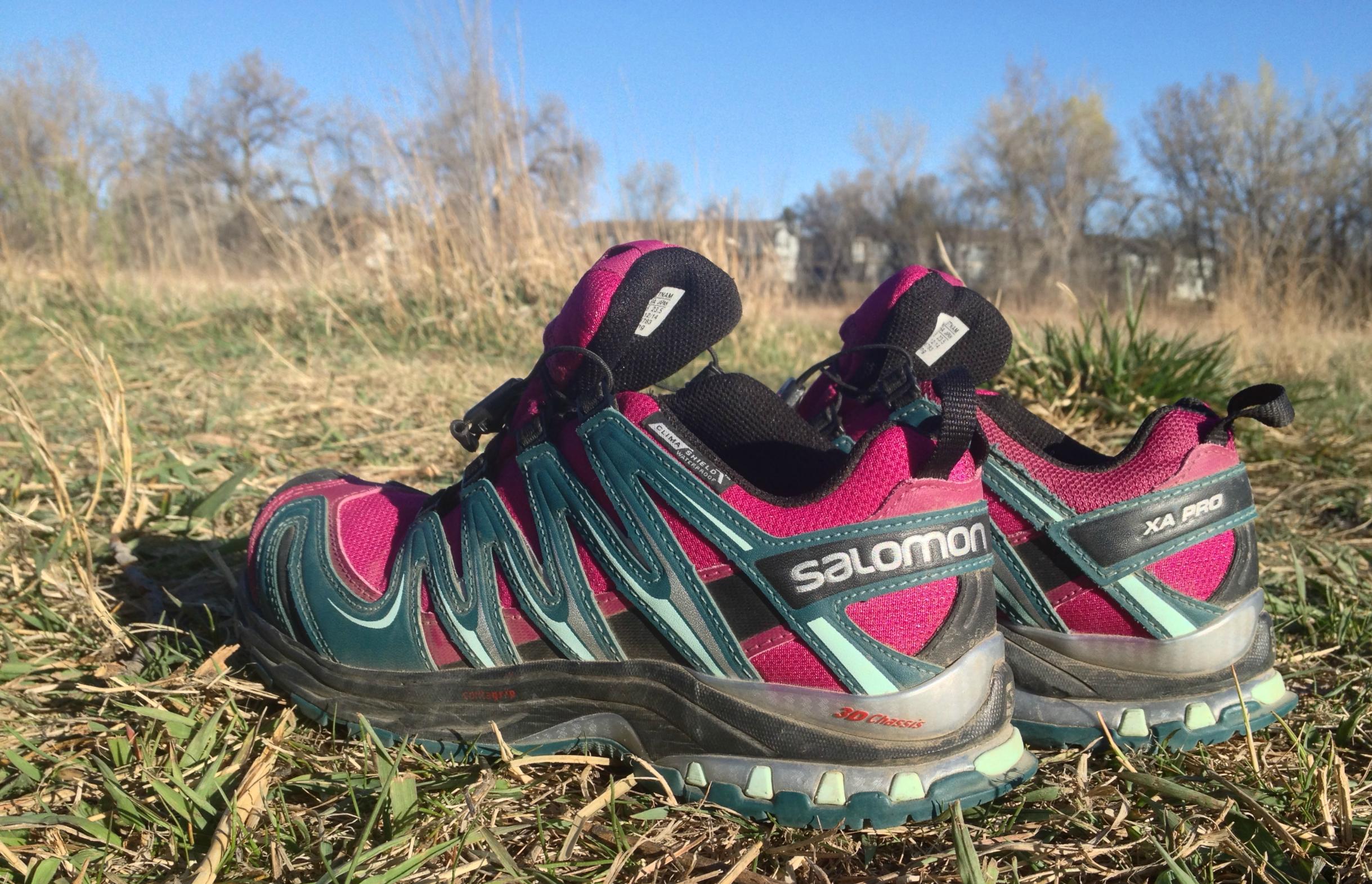 sélection premium 777a7 1c445 Gear Review: Salomon XA Pro 3D CS WP Trail Runners
