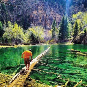The Hanging Lake
