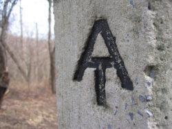 appalachian trail sign 2