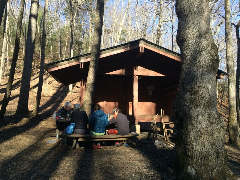 Isobutane gourmet at Low Gap shelter