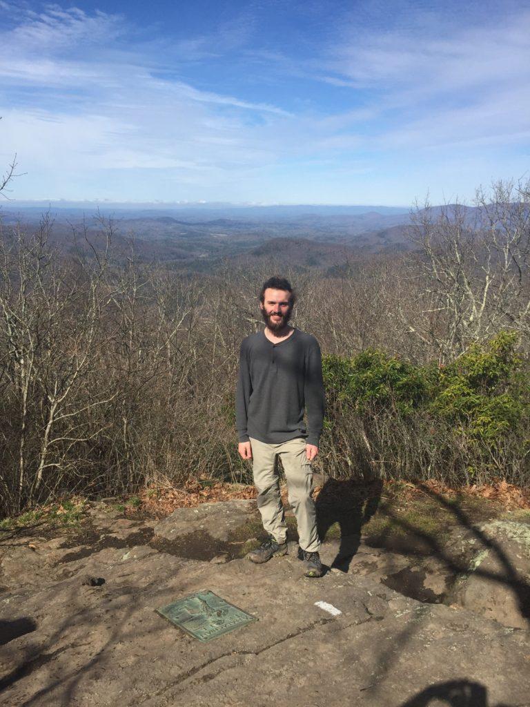 Springer Mt. 3782 ft. Mile 1