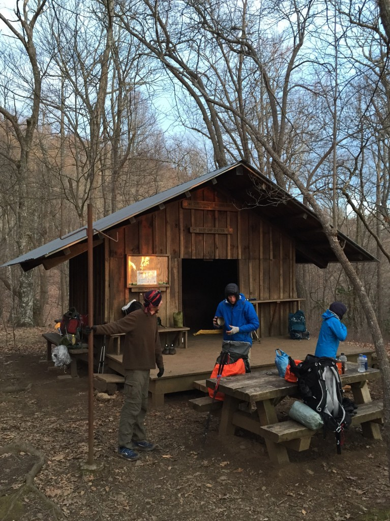 Deep Gap Shelter