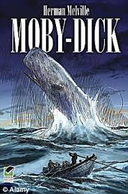 At 700 pages, Moby Dick is not the lightest book to take hiking!