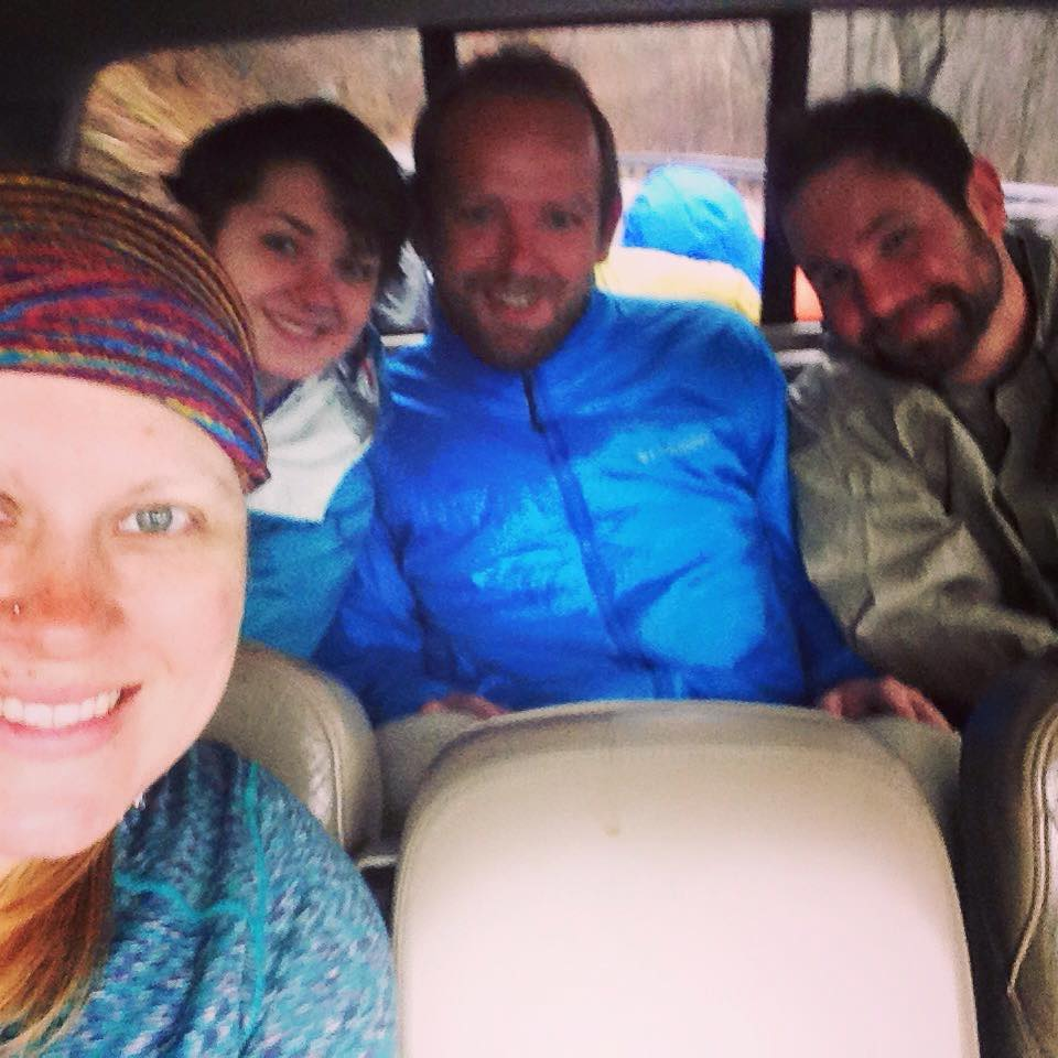 Marietta, Chuckles, and Peg Leg stayed at the hostel with me Sunday night. Them, along with Z and Loon, were my first trail friends! (If y'all are out there, I'd love to connect with you on facebook or instagram, so leave me a comment!)