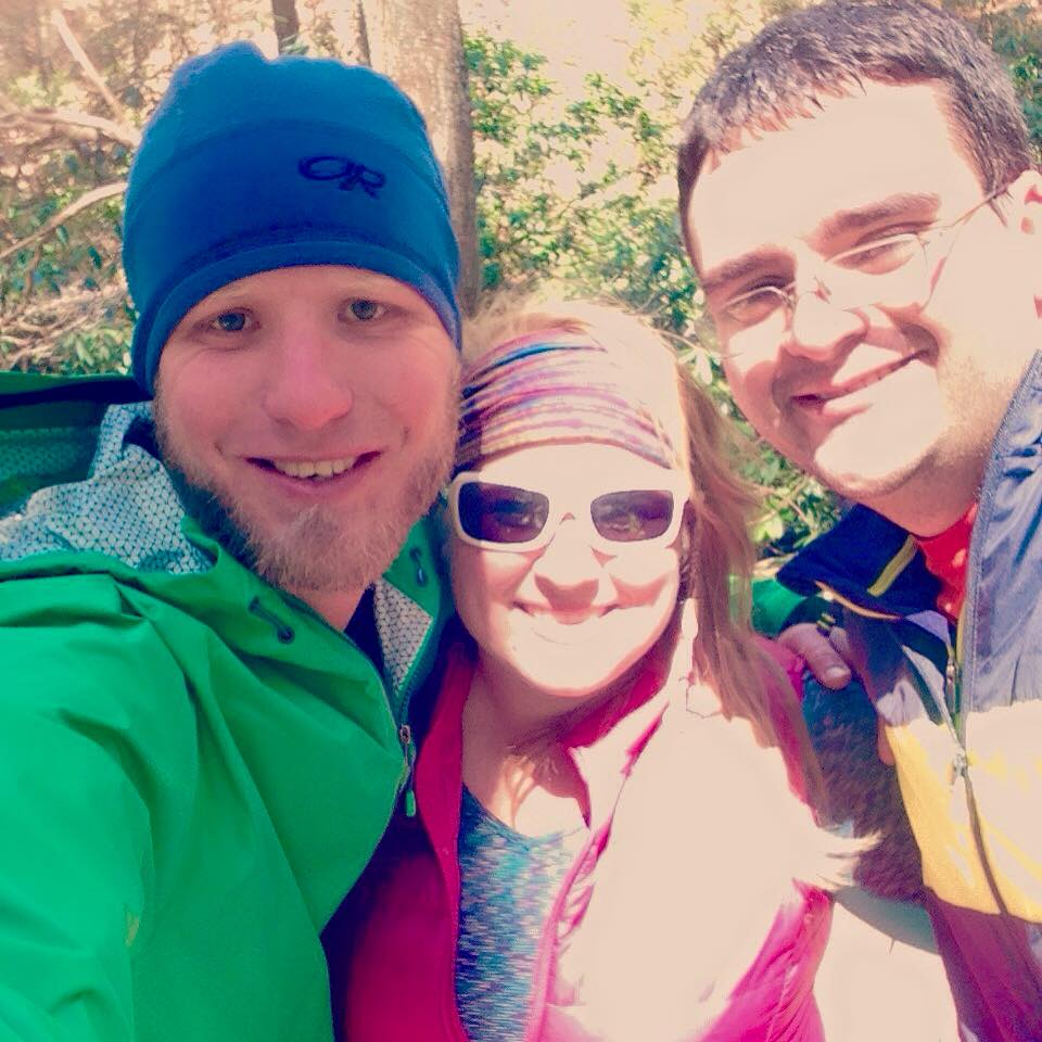 Rusty and John were my first official trail angels! Loved getting to spend a short time hiking with these two as our paths crossed throughout the first day of hiking.