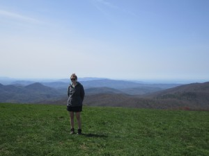 A very beautiful day on Max Patch summit!