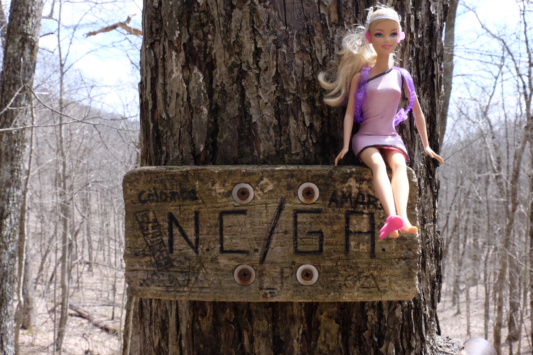 Barbie needs hiker clothes