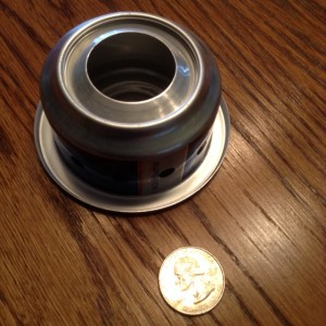 Itty bitty camp stove
