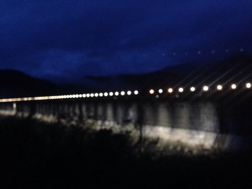 Fontana Dam early in the morning.