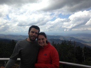 CLingman's Dome. We lucked out and hit it on a good, clear-ish day!