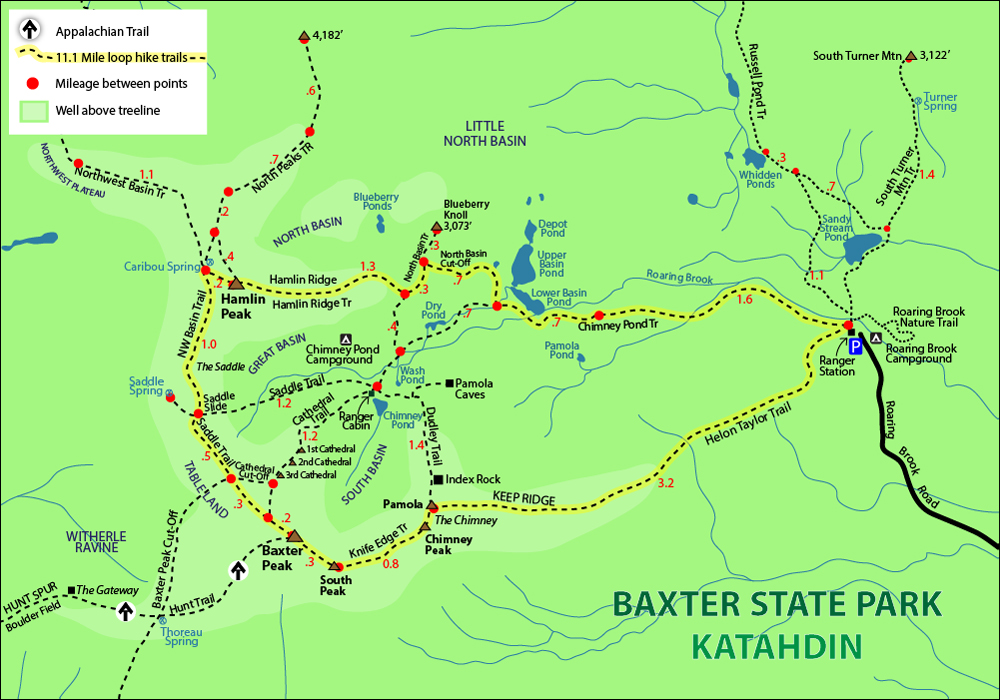 MAP katahdin LARGE