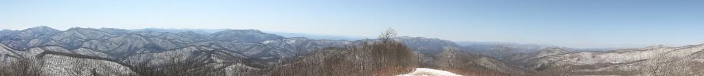 Siler Bald Panorama
