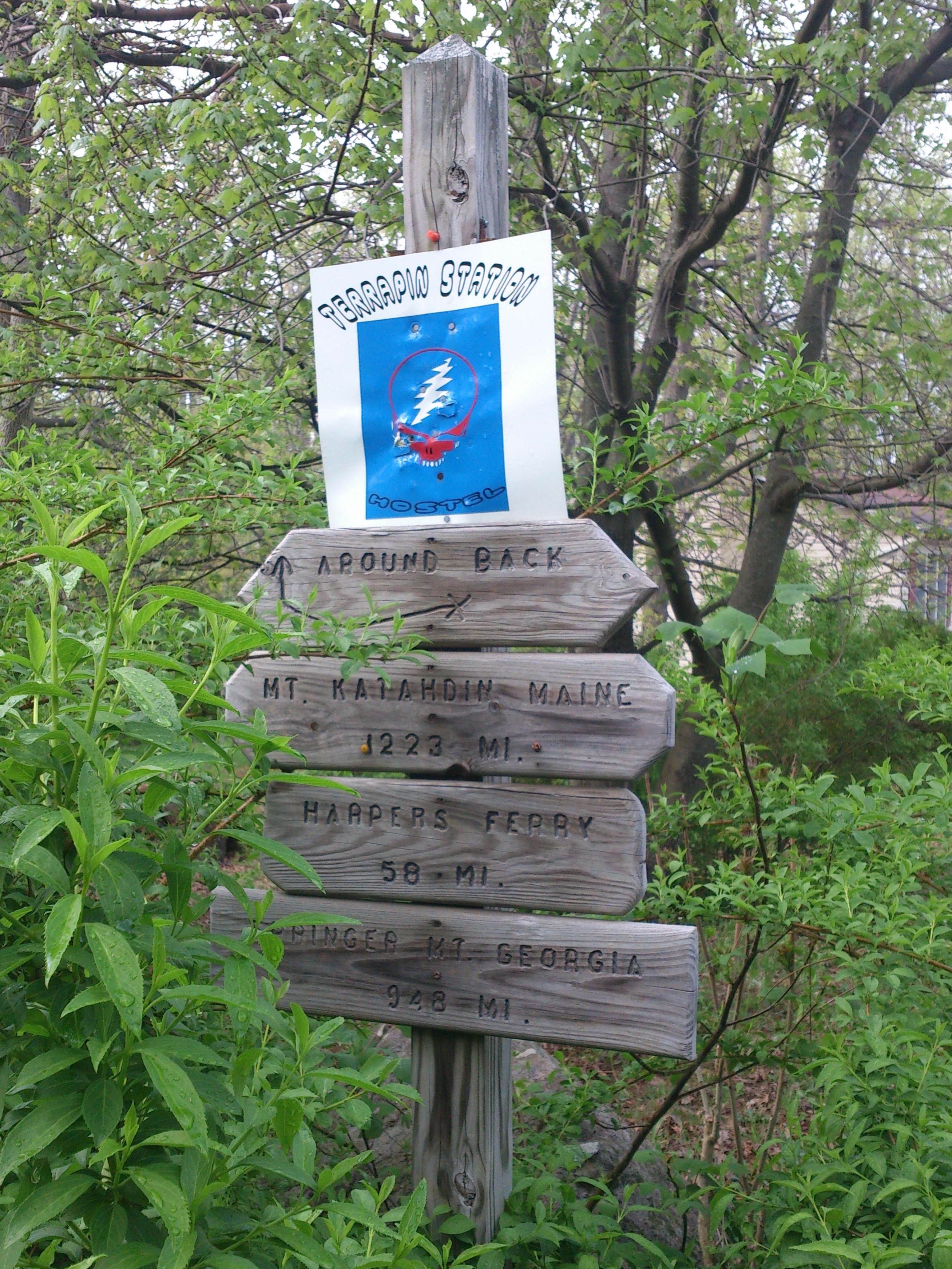 SoBo - Terrapin signpost