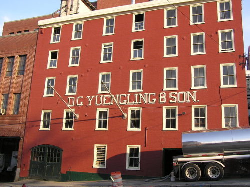 Yuengling Brewery in Pottsville, PA