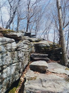 The Catskills are littered with rocks to scale, but this one is nothing compared to the Devil's Path
