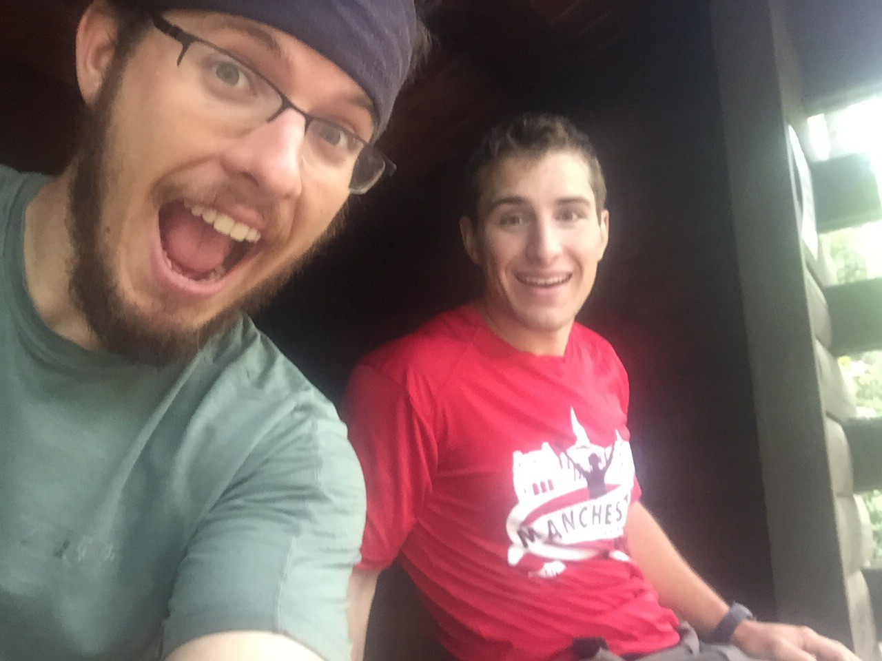My good friend Anthony came out to hike with me for a week!
