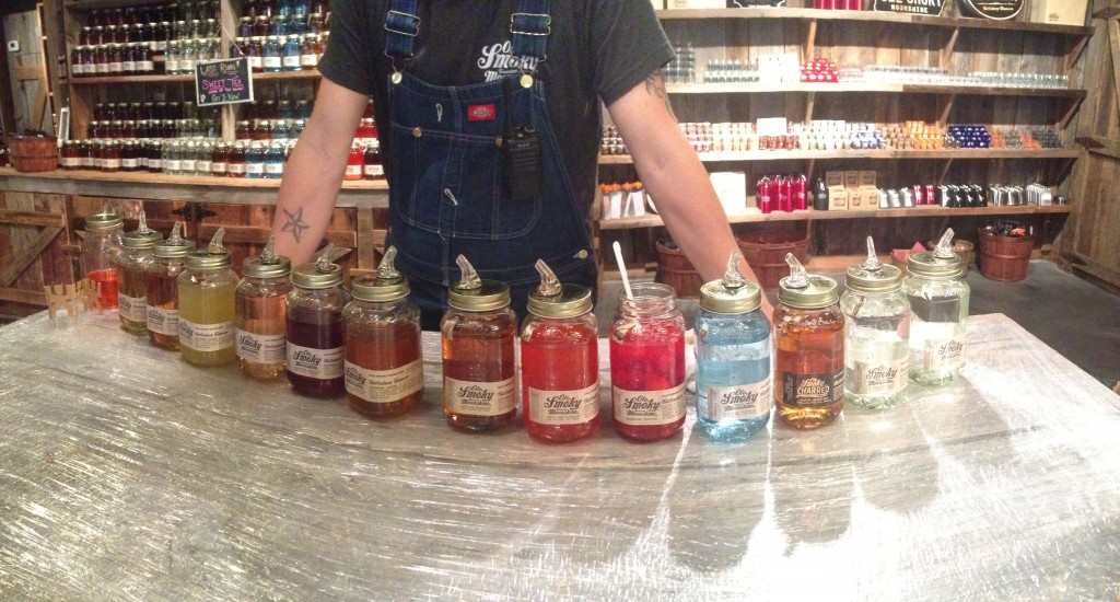Moonshine tasting is a good way to spend a zero day, no?