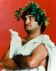 John Belushi publicity portrait for the film 'Animal House', 1978. (Photo by Universal/Getty Images)