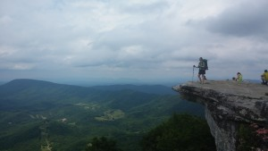 Beautiful view on McAfee Knob!