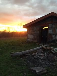 Sunset from Chestnut Knob.