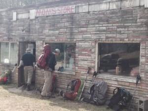 Mom's Store, where we said goodbye to Kamikaze.