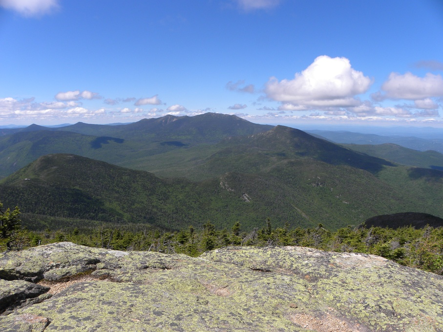 View from North Twin looking back at Mount Garfield and Franconia Ridge. Photo courtesy of .