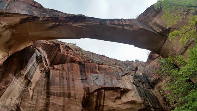 Arch not far from Hwy 12 along the Escalante River.
