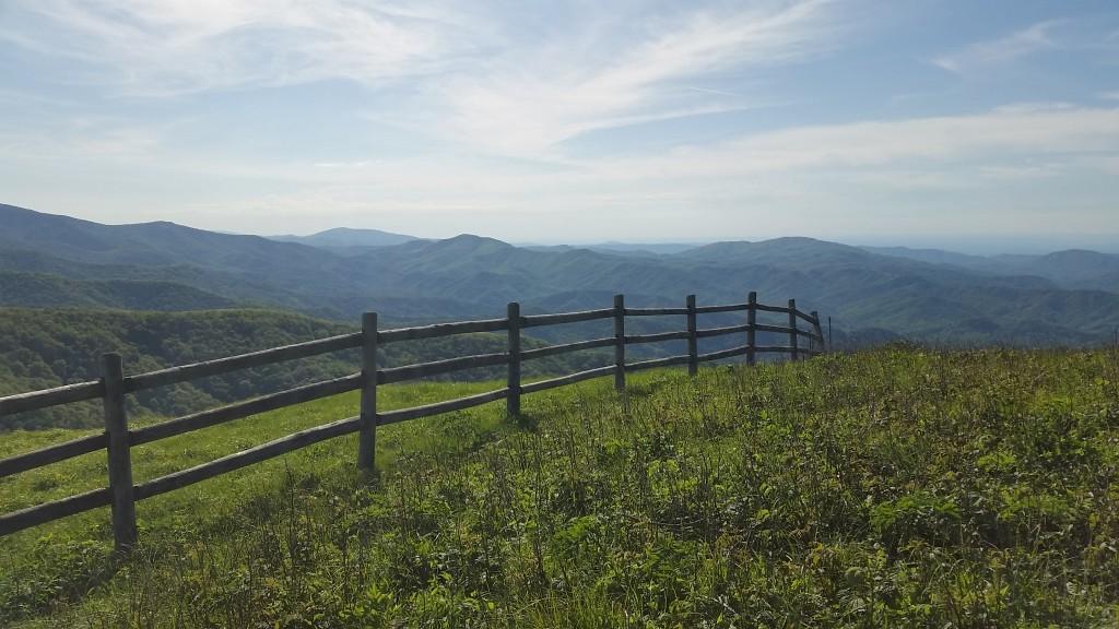 Big Hump mountain, TN a climb to steal your air