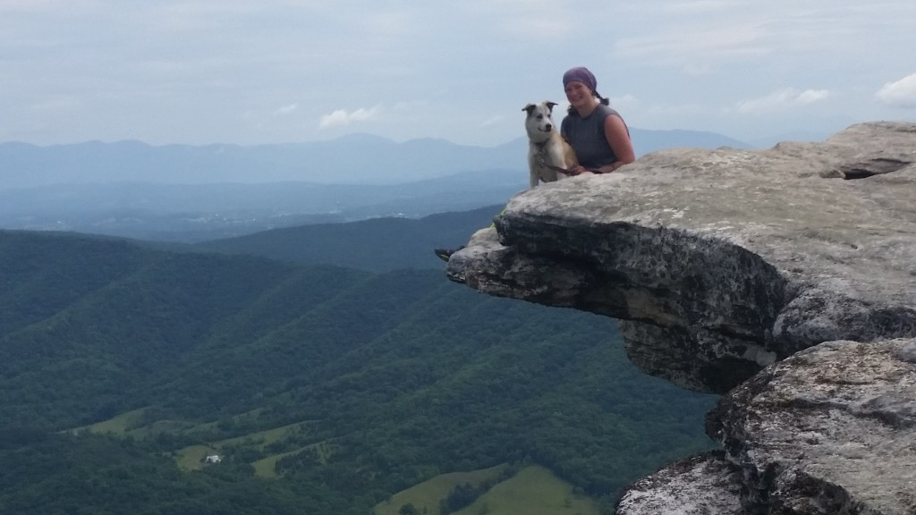 McAfee Knob - taking in the sights!