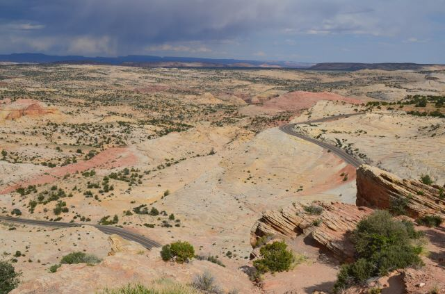 View from Highway 12 between Escalante and Boulder, Utah.