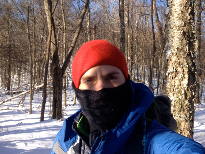 One day in the Smokies was so cold that my neck gaiter froze in the shape of my face. It's moments like these when you learn just how much punishment you can take.