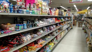 The clear plastic bags often had the best deals and Easter candy was on the shelves year round.