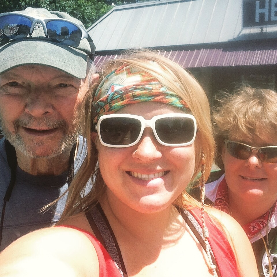 Trail Angels Hutch (past thru hiker) and Alex (section hiker) helped me get back to NC and bought me lunch. So thankful for their help!