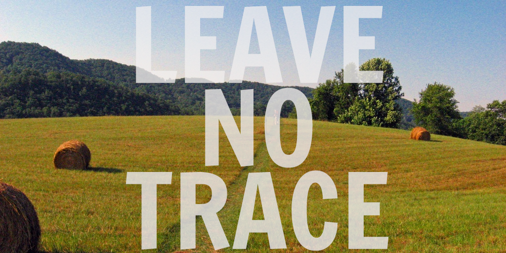 leave no trace appalachian trail zach davis