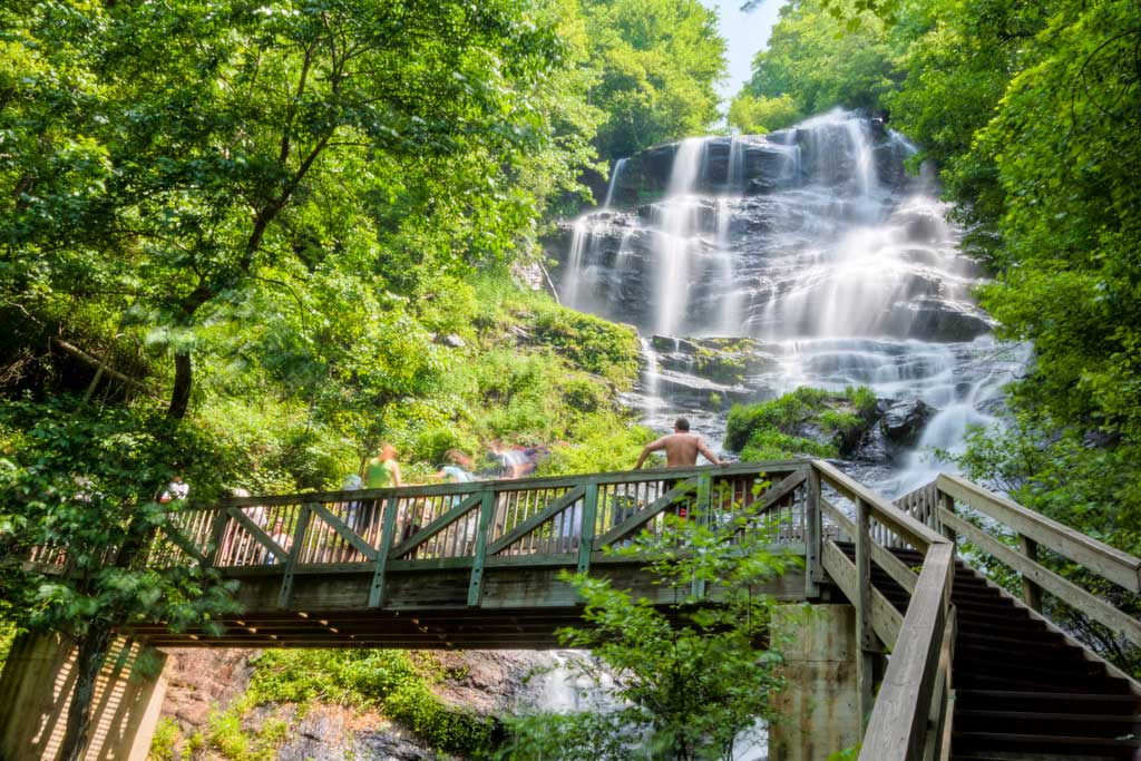 View of Amicalola Falls by Michael Hicks. CC BY-NC-ND 2.0.