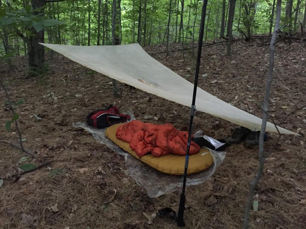 My camp setup