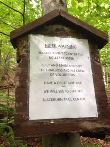 Hiker Warnings