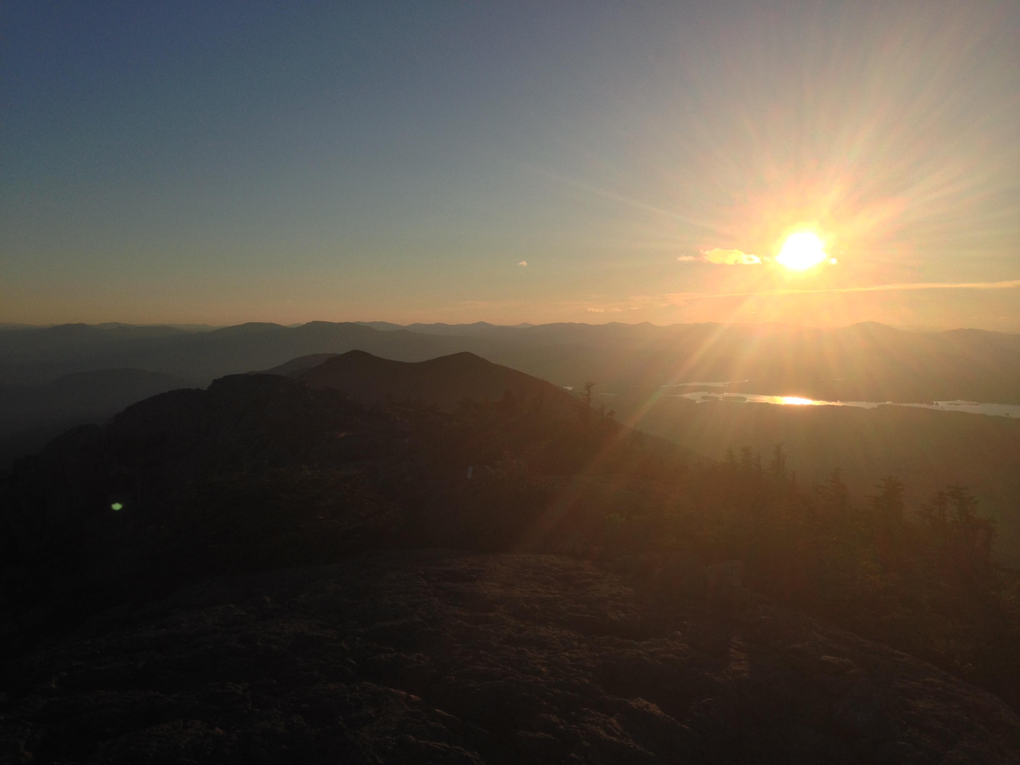 Bigelow West Peak, Sunset