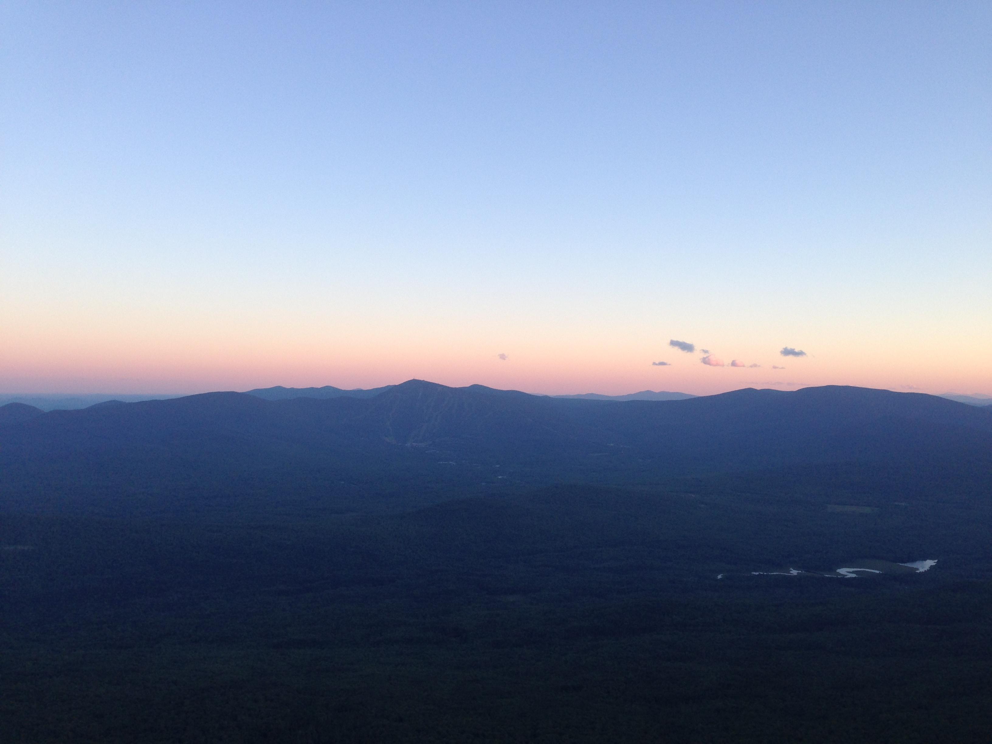 Bigelow West Peak, South