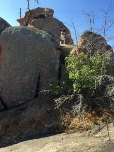 Andi at Enchanted Rock
