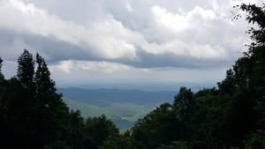 View off of Blood Mtn.