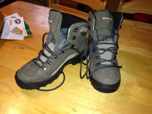 Boots boots boots. Heed advice from REI. Spend some quality time picking out the right pair!
