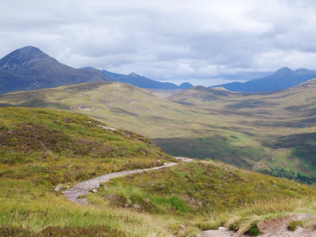 Devil's Staircase, the highest point on the WHW