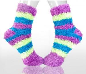 Lady-Fuzzy-Socks