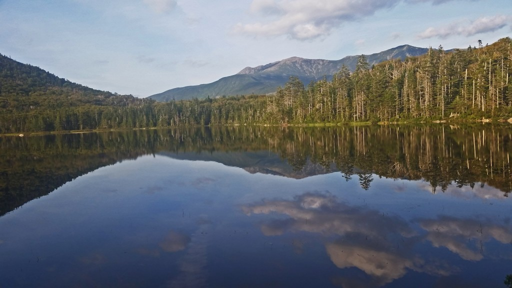 Lonesome Lake reflections